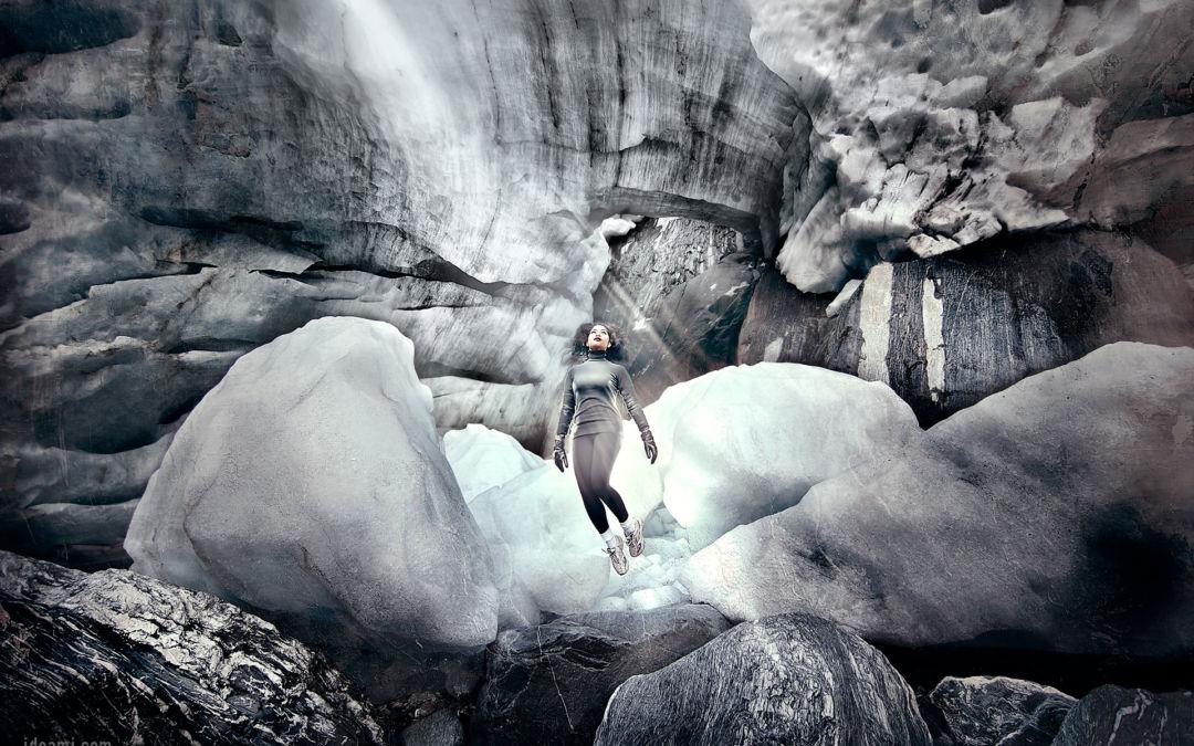 The Ice series at Franz Joseph Glacier in New Zealand
