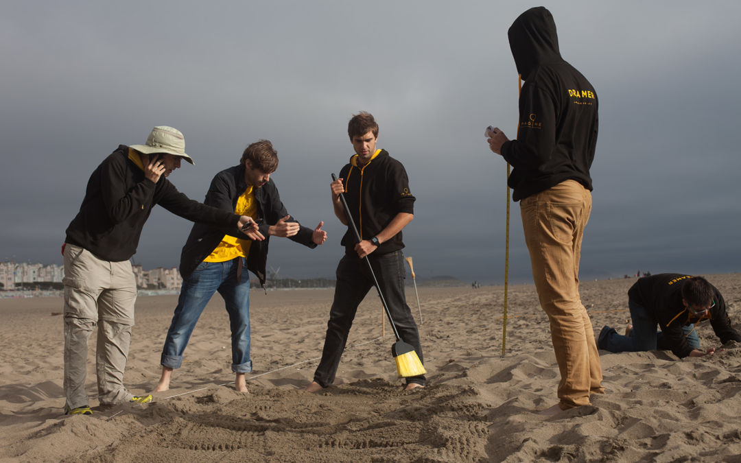 Lost in the Sand Team Building Event in San Francisco by Ideami