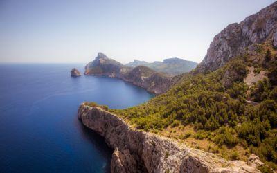 Volandino lands in Mallorca island