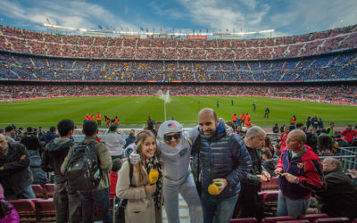 Volandino at Barcelona Football Stadium